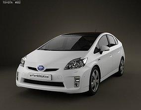 3D Toyota Prius 2010
