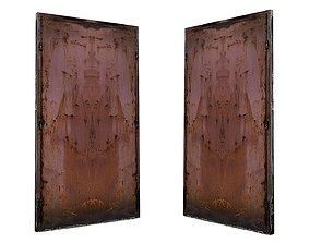 3D asset Metal Door 01 03