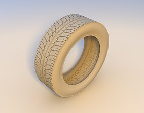 3D model realtime tires vehicle