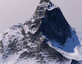Mountain 3D landscape