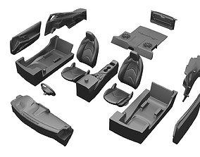 Gr Supra interior details EASY KIT 3D print model