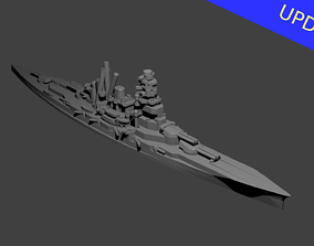 3D print model Japanese Kongo Class Battlecruiser