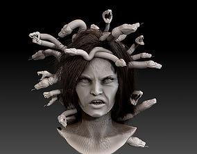 3D Medusa Gorgon Bust