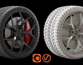 Rim and Tire 3D