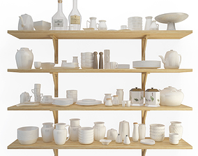 3D model Crockery Shelves