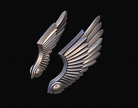 Wings Stylized 3D print model