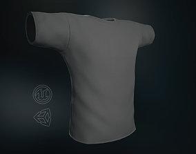 Gray T-Shirt 3D model