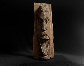 3D asset Decoration - African Statue 03 -