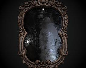 Creepy Black Mirror 3D PBR