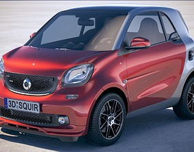 3D Smart ForTwo Brabus 2018
