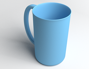 Plastic Cup kitchenware 3D model