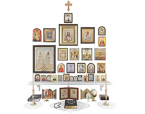 3D Christianity Icons