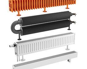 Radiator Set 1 3D model