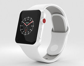 3D Apple Watch Edition 3 38mm GPS White Ceramic White 1