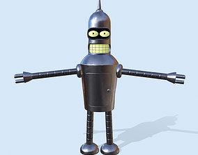 3D model Robot Bender