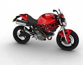 3D model Ducati Monster 796 2011
