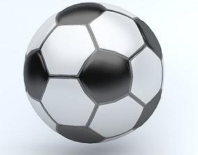 3D model SOCCER BALL ICON