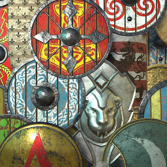 Medieval Shields Collection Vol1