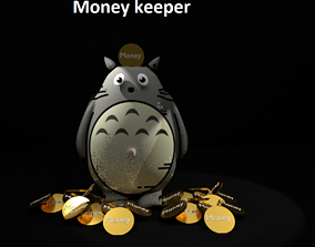 3D printable model Totoro money keeper