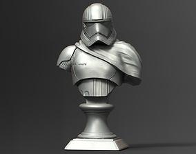 Captain Phasma Bust Fan Art bust 3D printable model