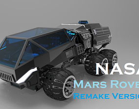 nasa 3D NASA Mars Rover Concept Remake Version
