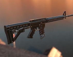 AR 15 3D model