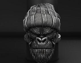 3D print model Gangster Monkey vol1 Ring jewelry