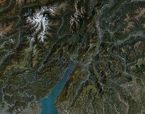 Lake Garda Adamello Brenta Nature Park 3D model