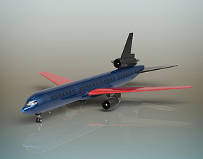 3D Airplane flying