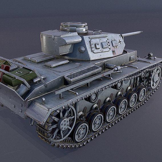 Panzerkampfwagen III Tank - Professional Work