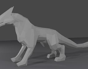 3D model Dragon sculpture