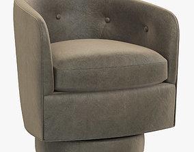 3D model RH Modern Milo Baughman Chair