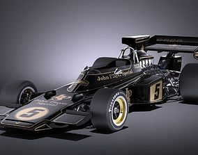 Lotus 72d 1970-1975 John Player Special Grand Prix VRAY 3D