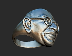 sculpture Gandhi Ring 3DP