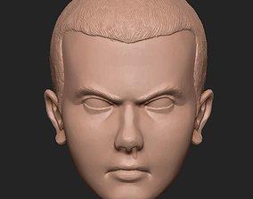 Eleven from Stranger Things 3D printable model