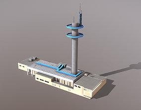 3D model Building Nice France Telecom