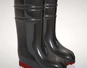 model rain boots