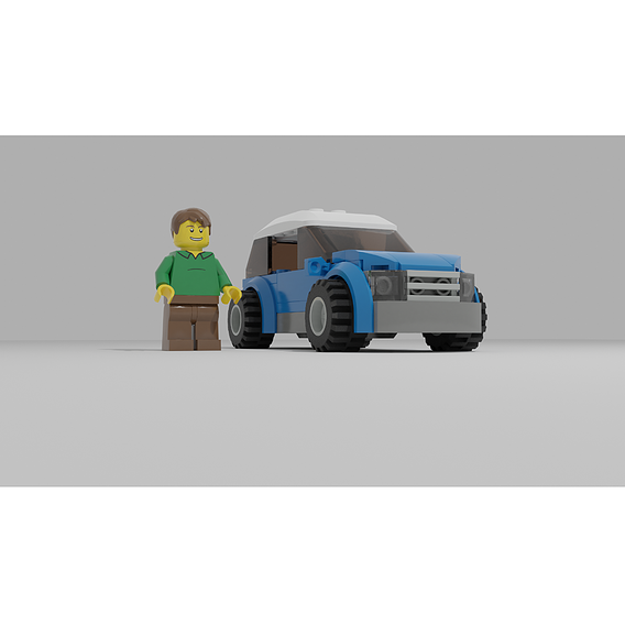 LEGO city car