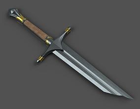 3D print model Acharn - Dirhael shattered sword - Shadow 1