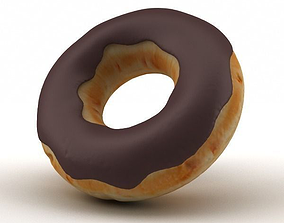 Chocolate Doughnut 3D