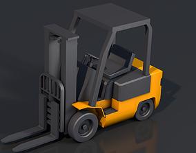 3D model Forklift vehicle