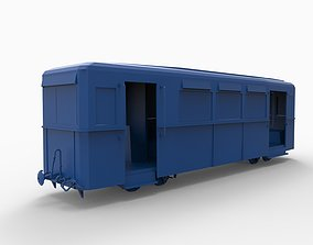 wagon mod2 3D printable model