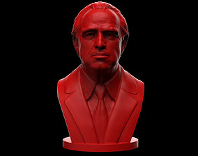 3D printable model Vito Corleone - The Godfather - Marlon