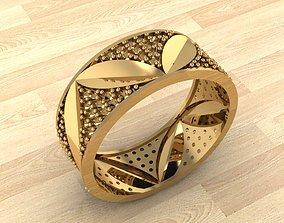 Ring 44 3D printable model ring