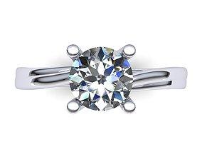 3D print model stone Diamond Ring