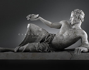 3D printable model sculptures Male sculpture