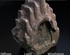 Scanned Stone Crown 3D model