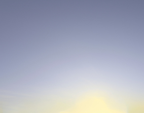 3D Skydome HDRI - Clear Winter Sky