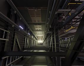 Elevator Frame 3D