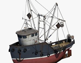 3D model Fishing Boat 2